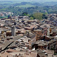 Siena, Toscana (pom'.) Tags: panasonicdmctz101 april 2018 siena senese campagnasenese toscana tuscany italia italy europeanunion torredelmangia roofs 100 200 300 400 5000