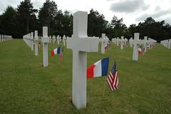 Omaha Beach - Cimetière américain de Colleville-sur-Mer (Calvados) - Remember D-Day (Feldpost 14) Tags: 14 calvados collevillesurmer omahabeach