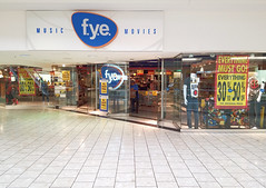 f.y.e. Closing at Stamford Town Center (The Caldor Rainbow) Tags: fye for your entertainment closing mall taubman