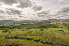 _DSC.0047  - The head of Wensleydale (SWJuk) Tags: richmondshiredistrict england unitedkingdom swjuk uk gb britain yorkshire northyorkshire yorkshiredales dales wensleydale hawes simonstone landscape scenery countryside hills hillside moors moorland drystonewalls fields farmland clouds cloudy skies sky 2018 may2018 spring nikon d7100 nikond7100 rawnef lightroomclassiccc tokina1116mm wideangle