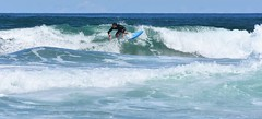 DSC_2290 (marcnico27) Tags: 2018 marcnico27 outdoor wet surf board male sansebastian man sky blue spain donostia sport