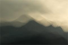 dark mountains......... (Brigitte Lorenz) Tags: abstract mountains summer mood nature landscape