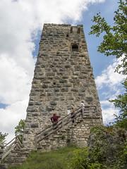 DSCN3174 (David J. Thomas) Tags: schelklingen germany hiking walking hills nicholstravelprogram lyoncollege students schlossturm castle tower