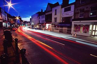20110318 Traffic by twilight