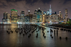 In the still of the night (_gate_) Tags: nyc new york city usa brooklyn bridge park downtown manhattan