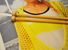 Κίτρινες δράσεις κι αποδράσεις ❤ (sifis) Tags: knitting sakalak greece athens store cotton summer knit πλέκω μαλλιά σακαλάκ nikon