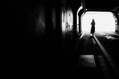 20180527 Street (soyokazeojisan) Tags: japan osaka light street city people bw blackandwhite walk wall shadow digital woman olympus em1markⅱ 12100mm 2018
