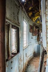 DSC_0457 (Stéphane Piegle) Tags: urbex explo exploration urbain lorient express train abandonné rouille vieux