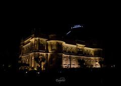 "Night Photograph of Prince Gamil Tousson & Princess Neamatullah Tewfik Palace, Designed by Italian Architect ""Antonio Lasciac"", Cairo, Egypt, 2018 (shinichisag) Tags: antiquities palace egypt night light prince princess tawfik neamatullah gamil tousson italian architect antonio lasciac 2018 cairo tahrir square"
