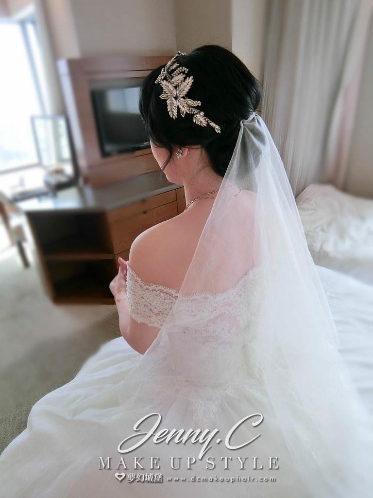【新秘蓁妮】bride欣羽 結婚造型 / 彰化名富喜宴餐廳