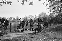 20171030_Endeavour_S5E6_Hexar_HP5_HC110_15A_web (Bossnas) Tags: 35mm bw christchurch endeavour film filming hc110 hexar hp5 ilford konica meadow oxford pakon s5e6