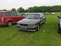 1990 Mitsubishi Galant GLSi Auto 2Litre (mangopulp2008) Tags: 1990 mitsubishi galant glsi auto 2litre enfield car pageant london 2017