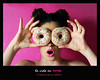 La vida en rosa - Amparo García Iglesias (Amparo Garcia Iglesias) Tags: rosa pink modelo laura garcia fotos photos amparo iglesias donust color sabor alimento