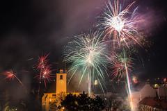 Let the new year come! 2017/2018 (RaNdomVan) Tags: fireworks feuerwerk happy new year vienna wien