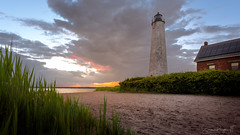 Lighthouse Point Sunset (Simmie | Reagor - Simmulated.com) Tags: 2018 connecticut connecticutphotographer fivemilepointlight june landscape landscapephotography lighthousepointpark lighthouse nature naturephotography newengland newhaven outdoors park spring sunset unitedstates beach ctvisit digital wwwsimmulatedcom