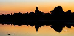 Sunset over the tidal estuary at Bosham (BitRogue) Tags: bosham england unitedkingdom gb 50mmnikkor nikond800 westsussex