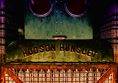Hudson Hunslet Abstract view (uk_dreamer) Tags: abstract art artistic color colour train loco engine decay dof depthoffield depth futuristic scifi creative eclectic arty photoshop elements