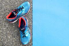 Triathlon de MONTAUBAN (Henri Aubron) Tags: triathlon de montauban running course sport shoes color look couleur bleue bleu henri aubron