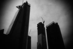 Corporate Desolation (Eric Gross) Tags: desolate newyork sinister monotone corporate manhattan hudsonyards