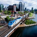 Amtrak in Montreal thumbnail