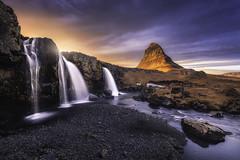 Kirkjufell (Raúl Podadera Sanz) Tags: kirkjufell islandia iceland sunset sunrise colors waterfall muntain river lake sea landscape travel cascada montaña