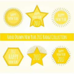 free vector Happy new year 2017 Yellow Color Badges Set (cgvector) Tags: 2017 5 abstract arrow background badges black blur card celebration christmas classic clock countdown decoration design eve explosion firework five flare frame glisten glitter glow glowing gold golden greeting happy holiday hour light logos magic midnight minute new newyear night number shiny sparkle sparks star sun tags time twelve vector waiting wallpaper watch wish year yellow