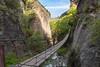 The bridge (svg74) Tags: bridge puente suspensionbridge river granada cahorrosdemonachil landscape naturaleza nature natura andalucía andalusia spain españa travel tourism trip