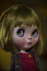 Custom #57 - Commission (Dolly Adventures in the Galland Household) Tags: blythe doll custom ooak art dollartistry dollphotography varsity dean takara