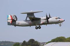 French Navy E2 Hawkeye (Dougie Edmond) Tags: prestwick scotland unitedkingdom gb carrier based aircraft military french marine us nave exercise