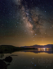 Bridgeport, CA (mikeSF_) Tags: california bridgeport mono lake reservoir astro stars milky way galaxy night long exposure pentax 645z 645 dfa35 astrophotography mikeoriaphotography wwwmikeoriacom outdoor pond bank sierra sierras eastern east