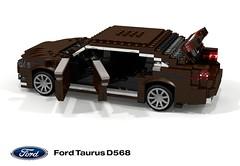 Ford AP Taurus (D568) (lego911) Tags: ford taurus ap d568 cd4 cd43 2016 2010s china asia auto car moc model miniland lego lego911 ldd render cad povray v6 ecoboost luxury sedan saloon