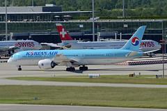 Korean Air Lines Boeing 787-9 Dreamliner HL8083 (EK056) Tags: korean air lines boeing 7879 dreamliner hl8083 zürich airport