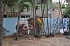 HI18_HNL_020 (Tai Pan of HK) Tags: hawaiʻi mokuʻāinaohawaiʻi stateofhawaiʻi hawaiki ʻavaiki savaiʻi kingdomofhawaiʻi hawaiʻiloa o'ahu thegatheringplace rainbowstate honolulu crossroadsofthepacific shelteredbay hnl thebigpineapple town paradise mural streetart slogan symbol emblem logo relief azulejo tiles eslogan emblema grafiti pared muro wall graffiti