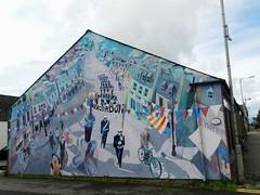 """The way we were"", Invergordon, June 2017 (allanmaciver) Tags: way we were mural invergordon east coast 2007 steve des landes artist street art wall allanmaciver"