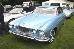 1968 Jaguar 420G. (Yesteryear-Automotive) Tags: 1968 jaguar 420g saloon car motorcar automobile