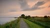Sunset on Marken (Alona Azaria) Tags: marken markermeer sunset sky clouds landscape seascape icebreakers netherlands dutch holland nederland nikon nikkor d800 1635mmf4