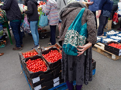 hands (watcher330) Tags: newcastleemlyn women market hands tomatoes