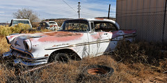 Pontiac Super Chief (Shot Yield Photography) Tags: usa unitedstates arizona pontiac super chief pontiacsuperchief car wreck rusty weathered neglected rotten picture shot yield foto photo image photography shotyieldphotography