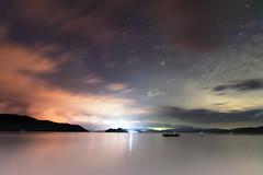 When Heavens Collide (Lemuel Montejo) Tags: twilight dramaticsky jetty moodysky daybreak riverbank sky water clouds sea ocean cloud drama lemuelmontejoartworks mvisuals