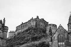 Wander with Alastair May 23rd 2018  (25 of 45) (Philip Gillespie) Tags: edinburgh scotland 2018 may summer spring canon 5dsr street people buildings architecture windows monuments castle historic old vennel cranes sky clouds sun water trees park arch court balmoral hotel lines shapes colour color green blue red yellow orange birds cats dogs duck goose heron pond lake flying swimming man woman statue horse folly path black white mono monochrome bike road angles flags bunting art artistic shade shadow