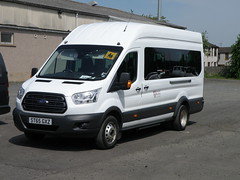 Ford Transit - ST65GXZ - Scottish Borders Council (cessna152towser) Tags: fordtransit kelso