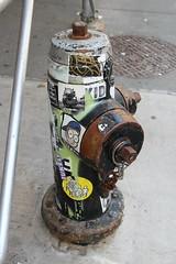 IMG_5479 (ShellyS) Tags: nyc newyorkcity manhattan soho graffiti hydrants streets