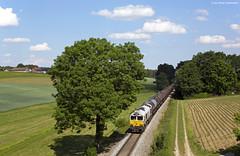 DB Cargo / ECR 247 043 Schwerölzug Vilsbiburg (OliverHeckmann) Tags: db cargo ecr class77 247043 jt42cwrm schwerölzug ölzug oiltrain burghausen vohburg vilsbiburg