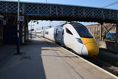 Doncaster (DarloRich2009) Tags: intercityexpresstrain iet intercityexpressprogramme iep class801superexpress superexpress hitachi class801 801101 doncaster southyorkshire yorkshire doncasterstation ecml doncasterrailwaystation