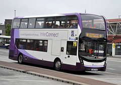 YX67VCM Stagecoach East Midlands 10899 (martin 65) Tags: enviro e400 enviro400 400 mmc road transport public nottinghamshire mansfield stagecoach group vehicle bus buses