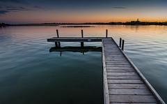 Soldier's Cove (JoMacca) Tags: jetty water marine mandurah dusk estuary nature colour board walk