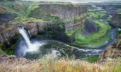 Palouse Falls 2 - Palouse Falls State Park, Washington (Explored 06/04/2018) (j-rye) Tags: sonyalpha sonya6000 sony a6000 ilce6000 mirrorless rocks water river palousefalls washington statepark dangerous rokinon12mmf20