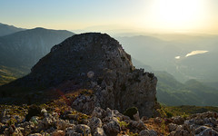 Karphi 1 (orientalizing) Tags: archaeologicalsite crete desktop earlyironage featured greece karphi lasithi sunset