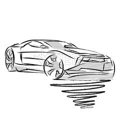 Modern sports car drawing study (Hebstreits) Tags: abstract art auto automobile background black business car card cartoon concept coupe design draw drawing drive element engine fast icon illustration isolated line luxury machine model modern motor movement outline power race side sign silhouette sketch speed sport sports style symbol technology transport transportation travel vector vehicle view wheel white
