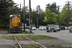 UP 667 ~ Seattle Industrial District (Chris City) Tags: train railway railroad branchline switching switcher industrial yse50r uprr road seattle